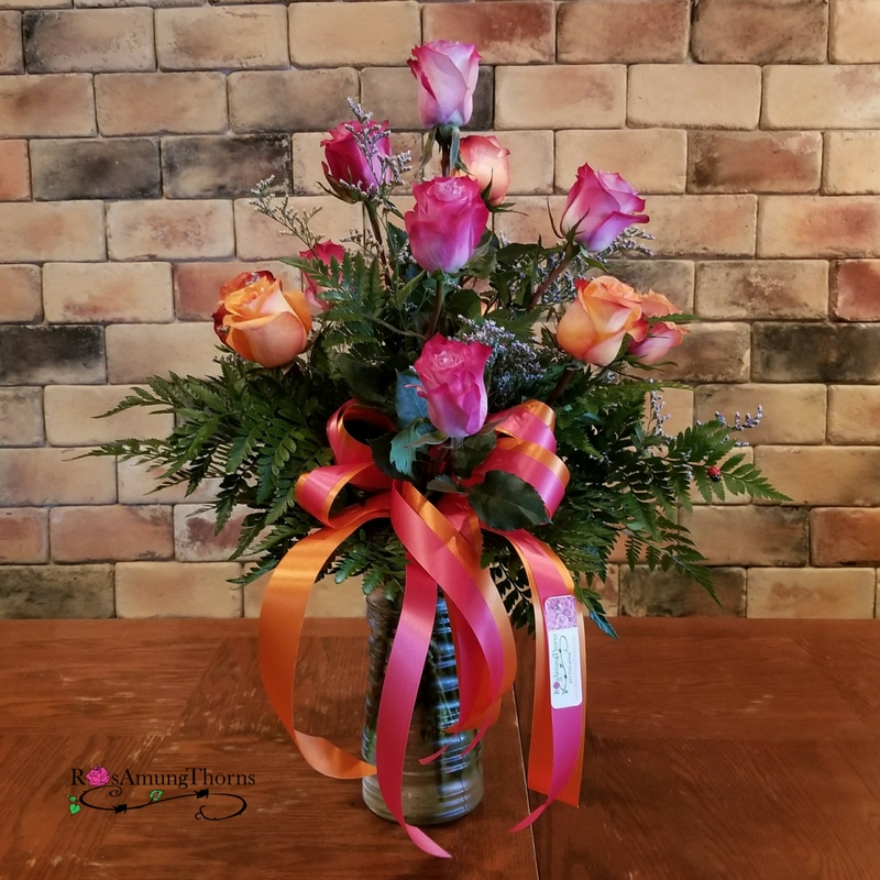 Tickled Peach Roses