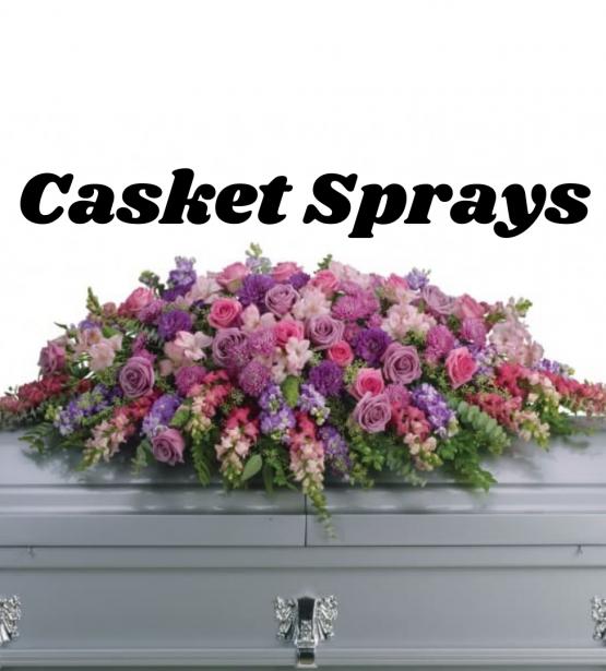 Sympathy Casket Sprays