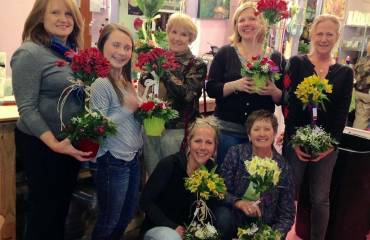 Wine & Floral Design Classes
